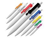 Kugelschreiber aus Kunststoff mit Clip Fingerzeig